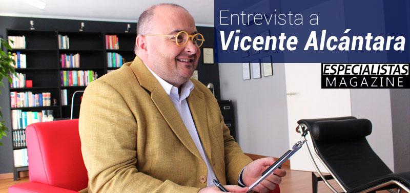 Entrevista a Vicente Alcántara